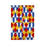 Six Bored Heralds Rectangle Magnet (10 pack)