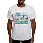 PA System - Camel - Fish Light T-Shirt
