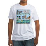 PA System - Camel - Fish Fitted T-Shirt