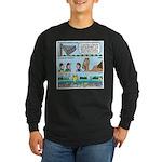 PA System - Camel - Fish Long Sleeve Dark T-Shirt