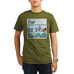 PA System - Camel - Fish Organic Men's T-Shirt (da