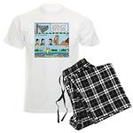 PA System - Camel - Fish Men's Light Pajamas