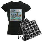 PA System - Camel - Fish Women's Dark Pajamas