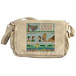 PA System - Camel - Fish Messenger Bag