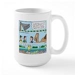 PA System - Camel - Fish Large Mug