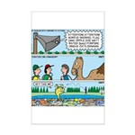 PA System - Camel - Fish Mini Poster Print