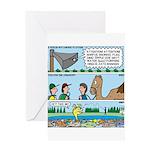 PA System - Camel - Fish Greeting Card