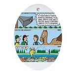 PA System - Camel - Fish Ornament (Oval)