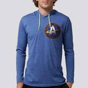 Starfleet Command logo Mens Hooded Shirt