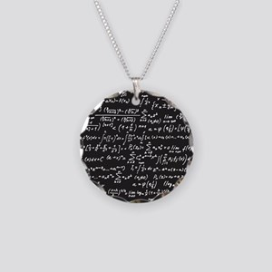 Chalk/Blackboard Necklace Circle Charm