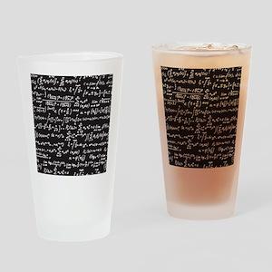 Chalk/Blackboard Drinking Glass