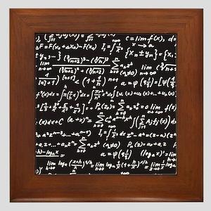 Chalk/Blackboard Framed Tile