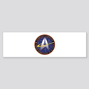 Starfleet Command logo Sticker (Bumper)