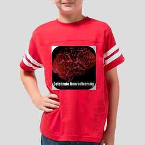 redbrain_dog Youth Football Shirt