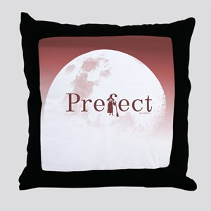 Prefect in Red Throw Pillow