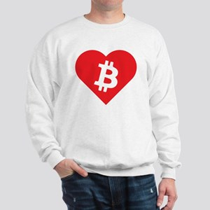 Love Bitcoin Sweatshirt