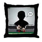 Railroading Counselor Throw Pillow