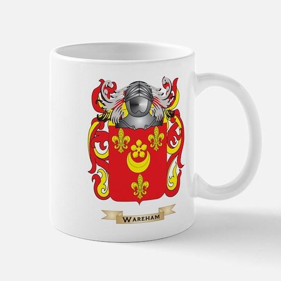 Wareham Family Crest (Coat of Arms) Mugs