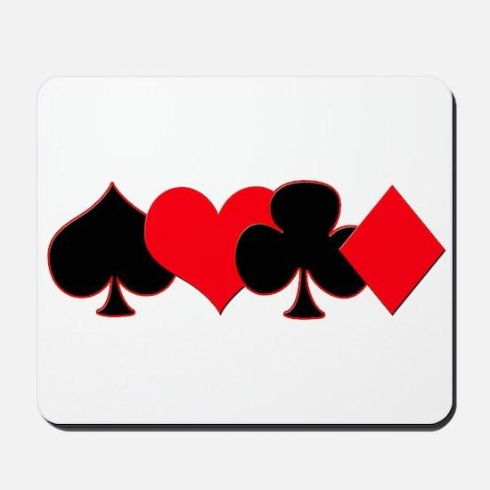 Card Suits Mousepad