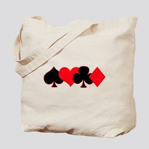 Card Suits Tote Bag