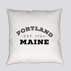 Portland Maine Everyday Pillow
