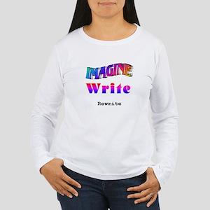 Writer's Process Long Sleeve Shirt for women