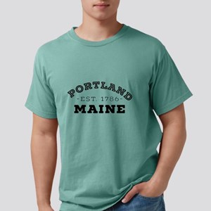 Portland Maine Mens Comfort Colors Shirt