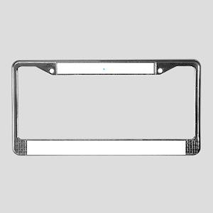 Postal Worker License Plate Frame