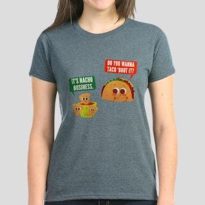 Nacho Business Pun Women's Dark T-Shirt