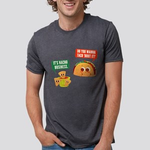 Nacho Business Pun Mens Tri-blend T-Shirt