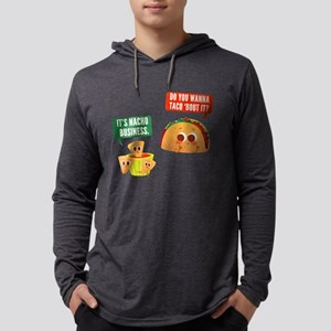 Nacho Business Pun Mens Hooded Shirt
