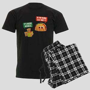 Nacho Business Pun Men's Dark Pajamas