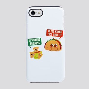 Nacho Business Pun iPhone 7 Tough Case