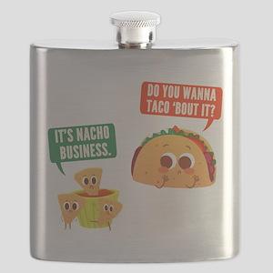 Nacho Business Pun Flask