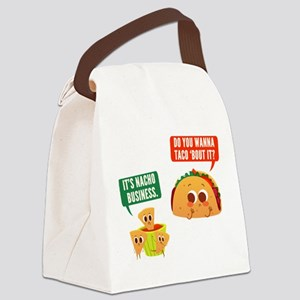 Nacho Business Pun Canvas Lunch Bag