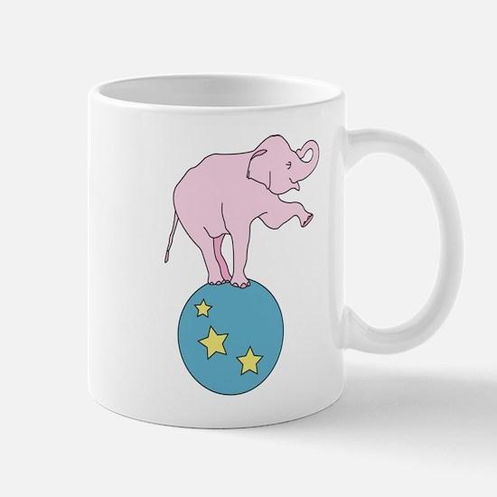 Circus Elephant Mugs