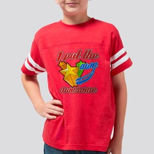 awe in awesome Youth Football Shirt
