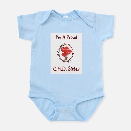 CHD Awareness Infant Bodysuit