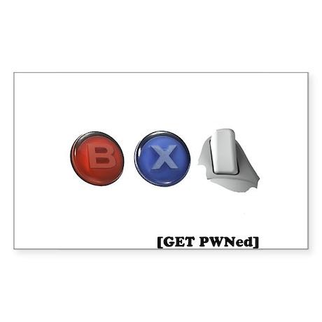 BXR Trigger Rectangle Sticker