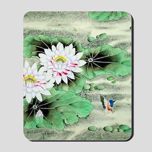 Vintage Floral Motif -Chinese Mousepad
