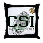 CSI Throw Pillow