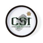 CSI Wall Clock