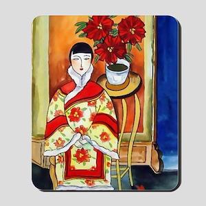 Vintage Painting -Oriental Art Mousepad