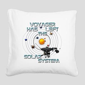 Voyager left Square Canvas Pillow