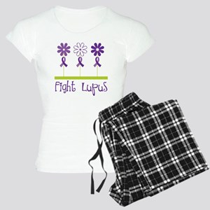 Lupus Awareness Daisy Women's Light Pajamas