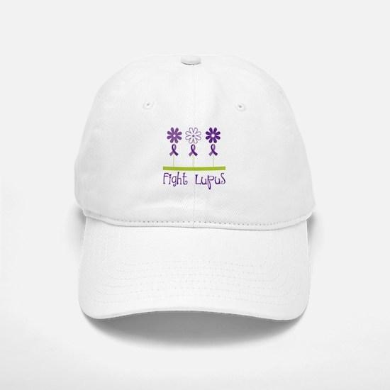 Lupus Awareness Daisy Baseball Baseball Cap