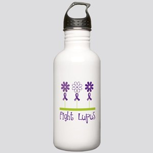 Lupus Awareness Daisy Stainless Water Bottle 1.0L