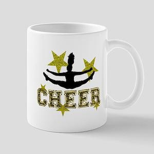 Cheerleader Gold and Black Mugs
