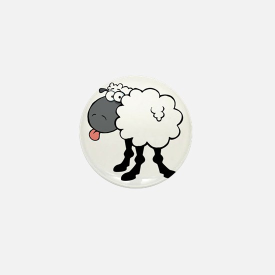 Sheepish  Mini Button