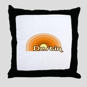 Destin, Florida Throw Pillow